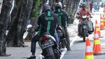 Lagi-lagi, Jalur Sepeda di Jalan Pramuka Dijajah Pemotor Nakal