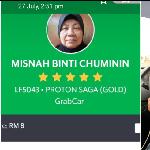 Demi Keluarga, Nenek Berusia 60 Tahun Jadi Driver Taksi Online