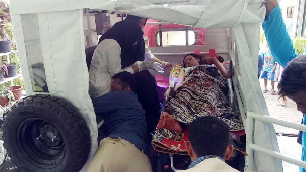 Bayi Lahir di Mobil Desa, Namanya Amdes