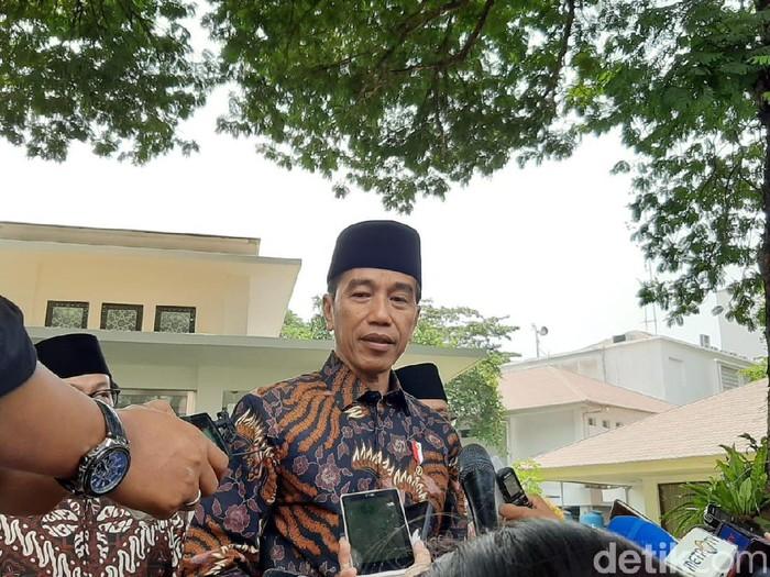 Presiden Jokowi (Marlinda Oktavia Erwanti/detikcom)