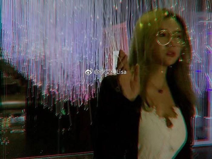 Selebgram China Lisa Lin. Foto: dok. Weibo