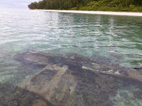 Melihat Bangkai Pesawat Pasukan Kamikaze Jepang di Papua
