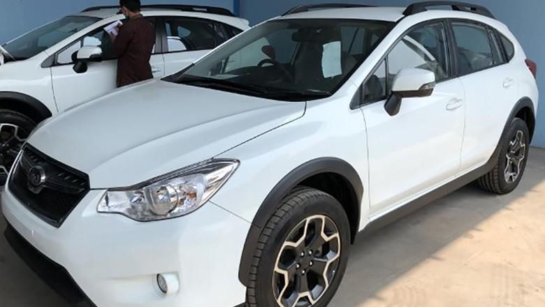 Mobil Subaru yang dilelang Foto: Istimewa/Kemenkeu
