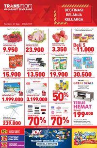 Terbaru! Transmart Buka Gerai di Semarang Majapahit