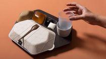 Di Masa Depan, Baki Makanan di Pesawat Mungkin Bisa Dimakan