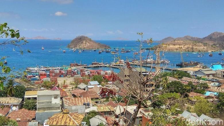 Kawasan Labuan Bajo (Foto: Trio Hamdani/detikcom)