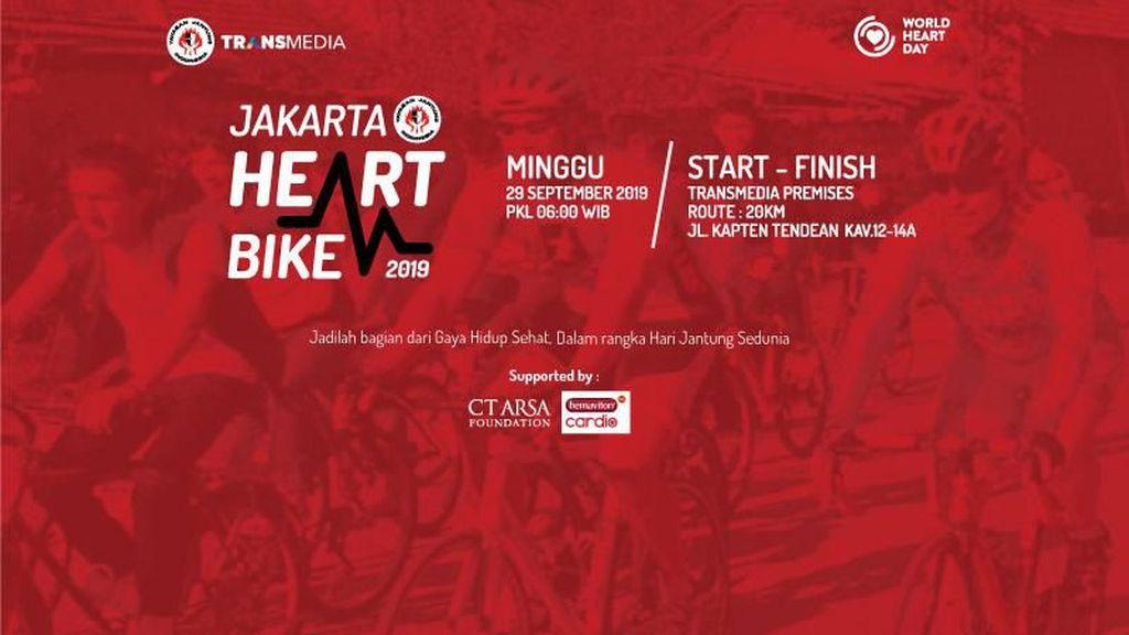 Lihat Keseruan Jakarta Heart Bike 2019 di Sini