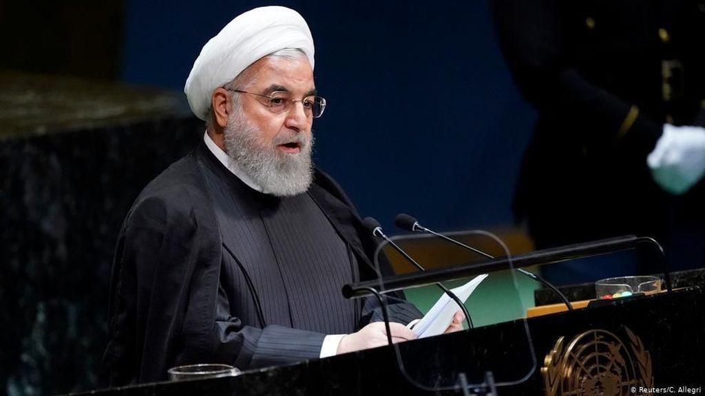 Jabatan Trump Berakhir, Presiden Iran: Era Tiran Telah Berakhir
