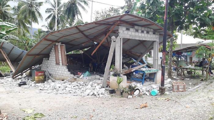 Kerusakan akibat Gempa Ambon (Foto: dok. BNPB)