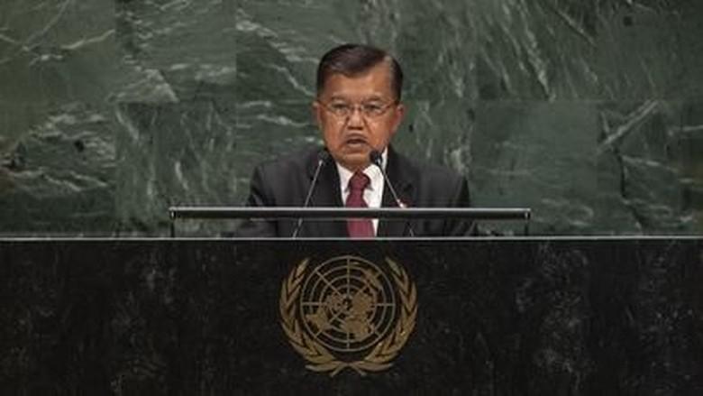 Tekankan Multilateralisme, Ini 5 Poin Penting Pidato JK di Sidang PBB