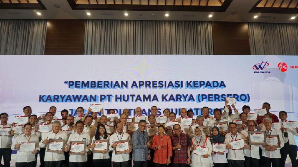 Tol Trans Sumatera Selesai Tepat Waktu, Rini Apresiasi HK