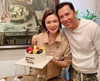 Rosamund Kwan dan rekannya, Donnie Yen