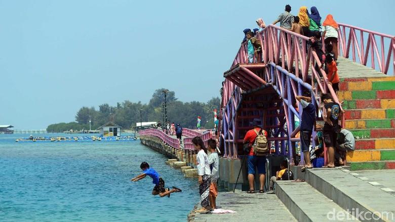 Pulau Tidung di Kepulauan Seribu (Randy/detikcom)