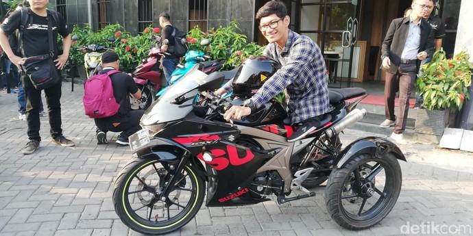 Rider Difabel yang Doyan Kecepatan