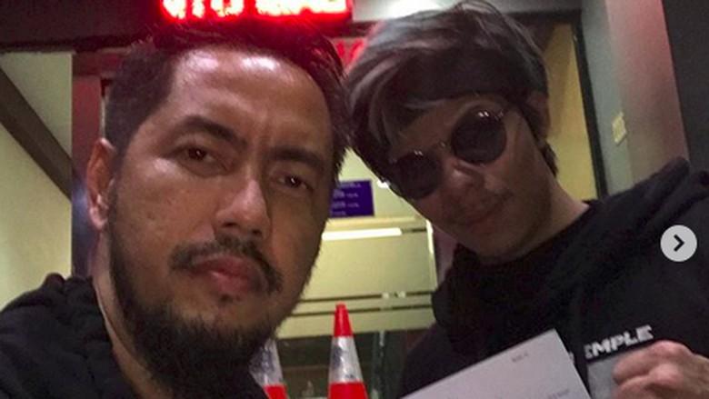 Foto: Atta Halilintar laporkan Bebby Fey ke polisi (IG/Sunan Kalijaga)