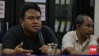Dandhy Laksono (kiri) menyebut saat ini Indonesia memasuki Orde Oligarki
