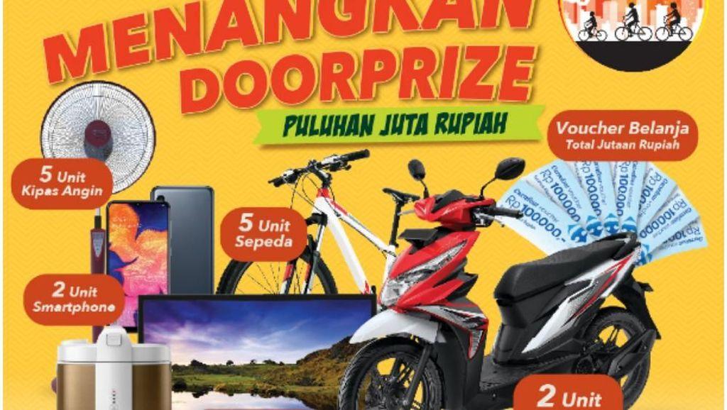 Berangkat Bawa Sepeda, Pulang Bisa Bawa Motor Baru!