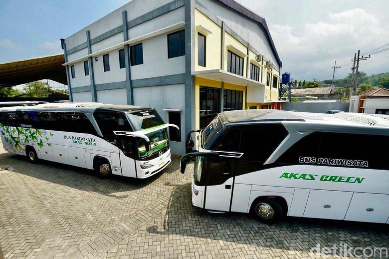 Bus AKAS Green. Foto: Istimewa