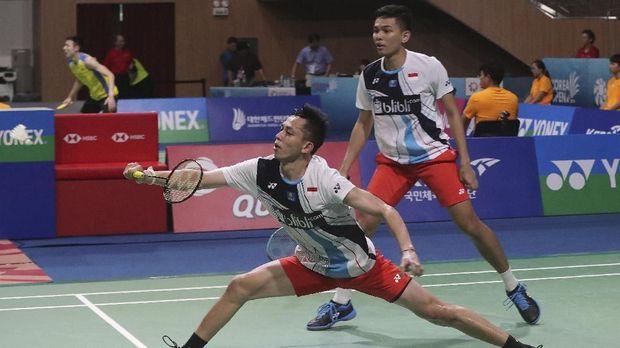 Fajar/Rian Lolos ke Perempat Final Indonesia Masters 2020