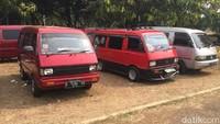 Jambore Suzuki Club 2019 digelar di Taman Mini Indonesia Indah, Jakarta, Sabtu (28/9/2019).