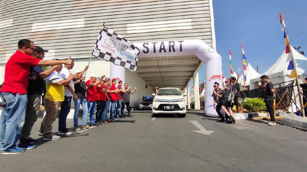 Toyota Tantang Pemilik Avanza Konvoi Cari Tempat Wisata