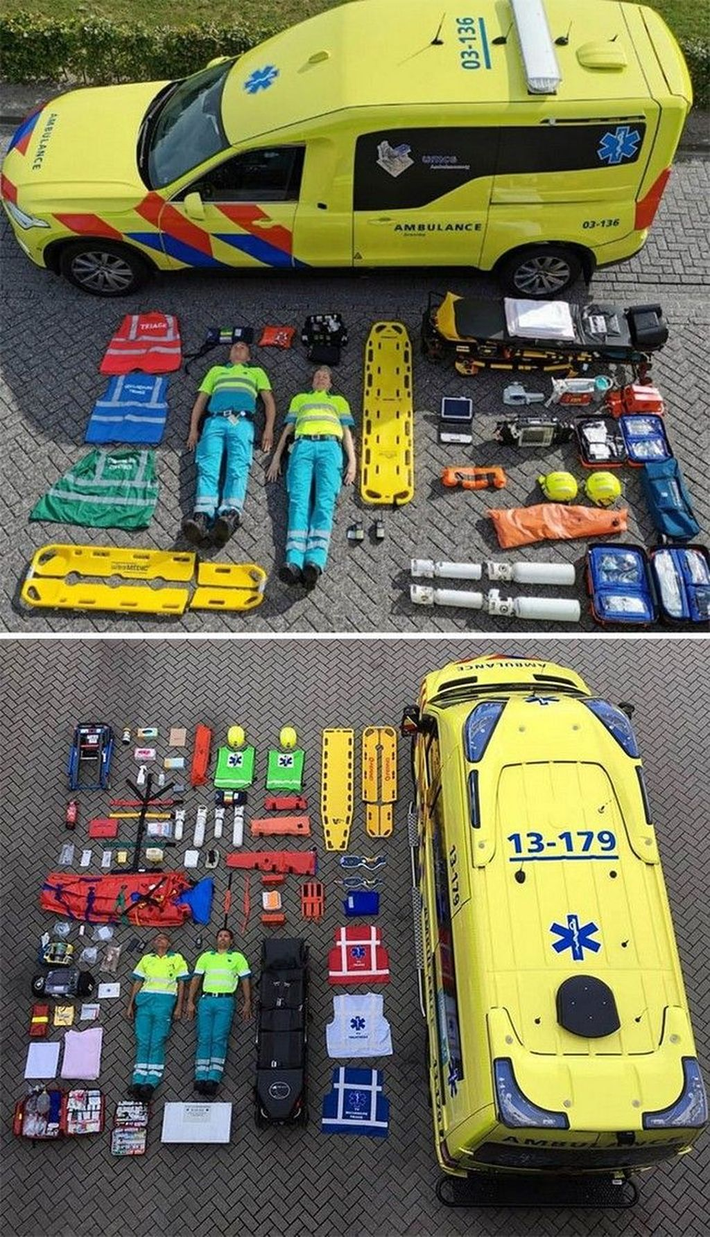 Ambulans Belanda Foto: tudointeressante