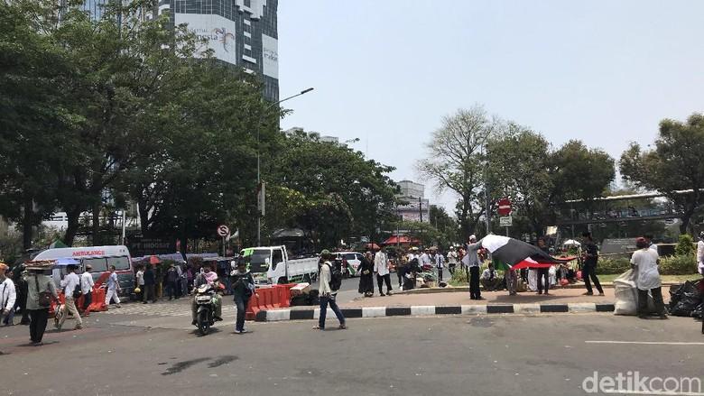 Massa Aksi Mujahid 212 Bubar, Sebagian Menuju Istiqlal untuk Salat Zuhur