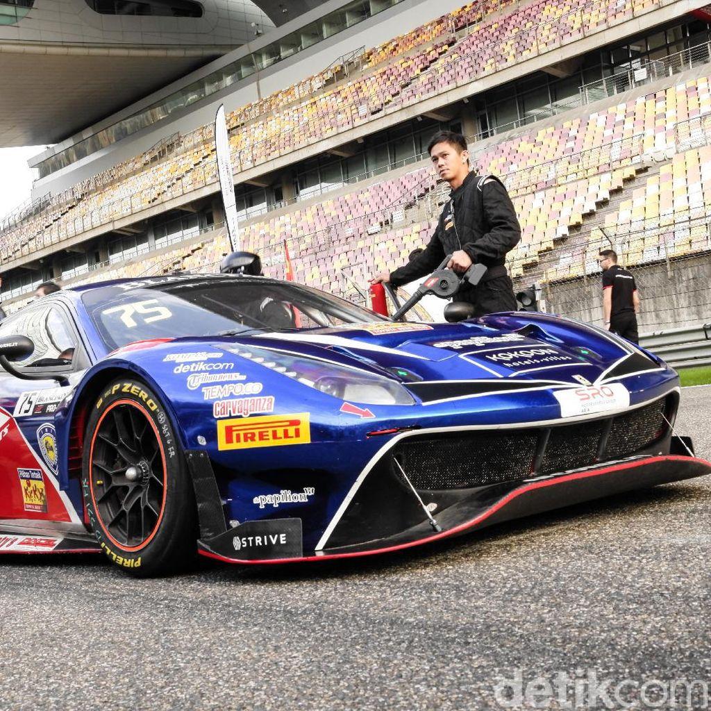 Intip Persiapan Rio Haryanto-David Tjipto di Asia Le Mans