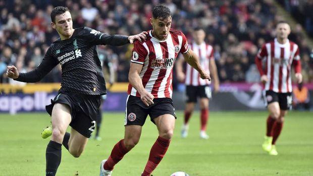 Liverpool sempat kesulitan menghadapi Sheffield United di babak pertama.