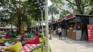 Serunya Cicip Makanan Kekinian Sambil Piknik di Festival Ini