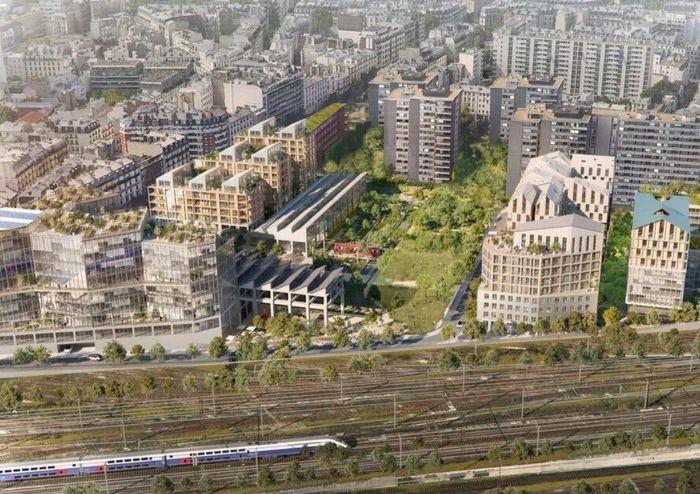 Sebuah perusahaan arsitek di Paris, SLA and Biecher Architectes telah membuat rancangan untuk sebuah jalur kereta tua di jantung kota Paris menjadi pedesaan yang ramah lingkungan. Istimewa/Dok. Inhabitat.