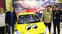 Pada tahun ini, IMX menyediakan lebih dari 60 booth, dengan menampilkan sebanyak 120 merek. Selain itu, IMX 2019 ditunjuk sebagai lokasi pengumuman AMMDes Digimodz sekaligus memamerkan karya pemenang dari kompetisi modifikasi digital tersebut. Karya AMMDes dengan konsep mini mixer truck buatan Dandung Prasojo dari Banyuwangi, Jawa Timur, telah dipilih juri sebagai pemenang kompetisi AMMDes Digimodz. Istimewa/Dok. Kementerian Perindustrian.