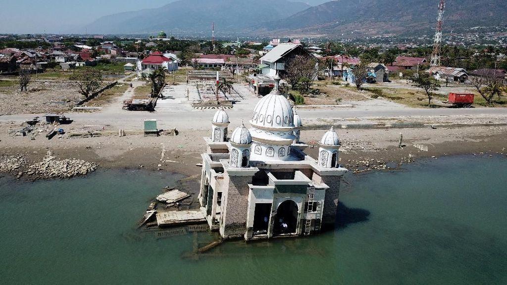 Saat Lokasi Bekas Bencana Jadi Objek Wisata di Palu