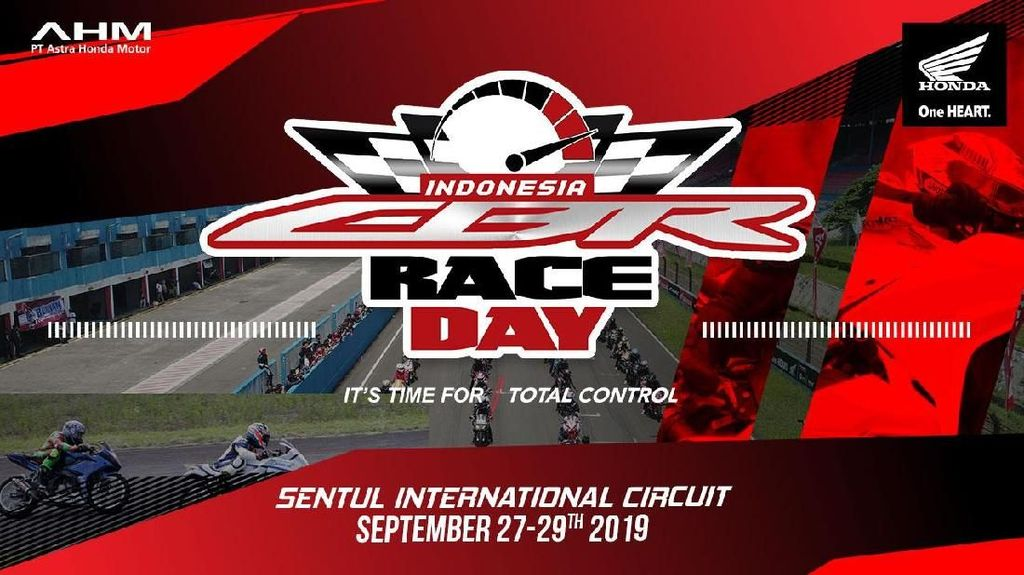 Adu Adrenalin Honda CBR di Sentul