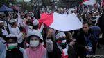Penampakan Massa Aksi Mujahid 212 di Kawasan Patung Kuda