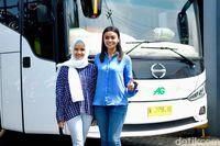 Kenalan Sama Aprilia, Srikandi di Dunia Transportasi Bus