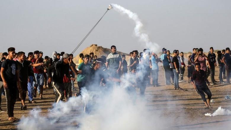 Warga Palestina Tewas Ditembak Israel dalam Bentrok di Perbatasan Gaza