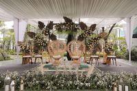 Bunga Warna Cappuccino Jadi Tren Dekorasi yang Digemari Pengantin Indonesia