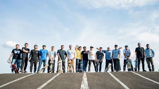 Komunitas Senayan Skateboarders