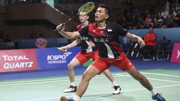 Fajar/Rian Menang Susah Payah di Indonesia Masters 2020
