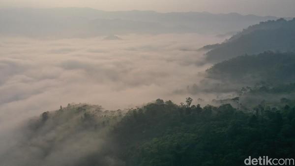 Gunung Luhur berada di Desa Citorek Kidul, Lebak, Banten (Didik Dwi H/detikcom)