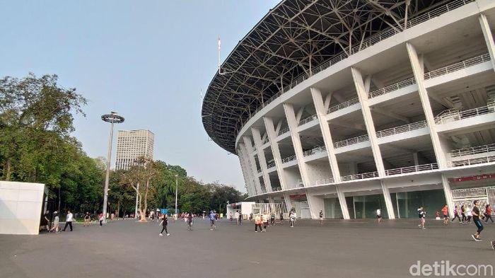 Stadion Utama Gelora Bung Karno jadi tempat beragam komunitas olahraga berkumpul dan beraktivitas (Doni Wahyudi/detikSport)