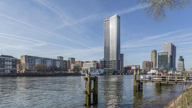 Gedung-gedung Tinggi di Kotanya Wijnaldum Pahlawan Liverpool