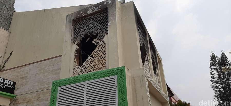 Penampakan Terkini Rumah Opick Usai Terbakar
