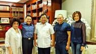 Elite PKPI Berkunjung ke Kediaman Prabowo