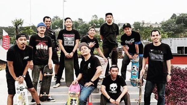 Senayan Skateboarders salah satu komunitas paling senior di GBK