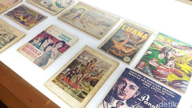 Menjelejahi Sejarah Arsip Komik Indonesia di Kemang