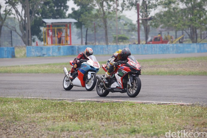Giliran Honda CBR250RR Jajal Aspal Sentul