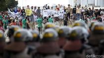Mahasiswa dan Pelajar Kembali Geruduk DPR