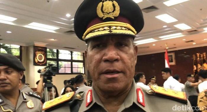 Kapolda Papua Irjen Paulus Waterpauw (Bil Wahid/detikcom)